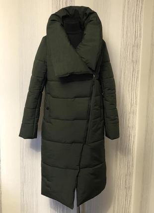 Зимнее пальто-одеяло пуховик одеяло