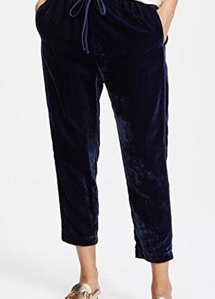 Синие вельветовые брюки, бойфренды, штаны вельвет