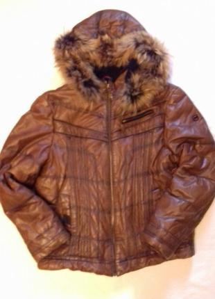 Крутая  мужская куртка дубленка virado