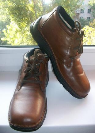 Ботинки зимние мужские натуральная кожа rieker р.45