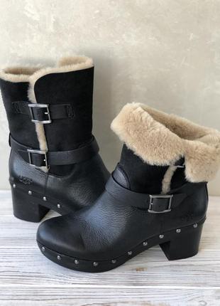 Ugg australia leather boots 100% оригинал