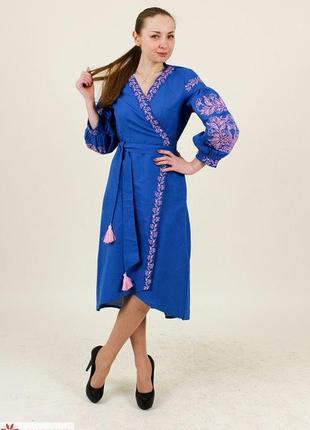 Супер -платье вышиванка на запах