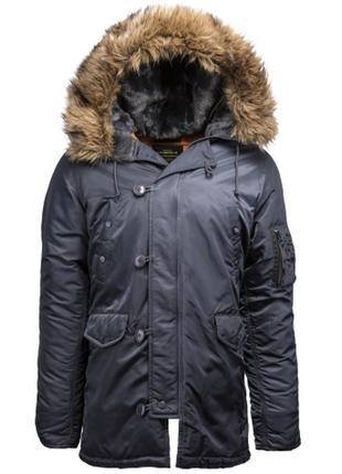 Куртка alpha industries парка n-3b slim fit parka.