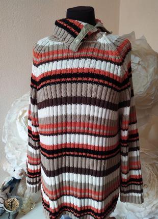 Теплый свитер под горлр