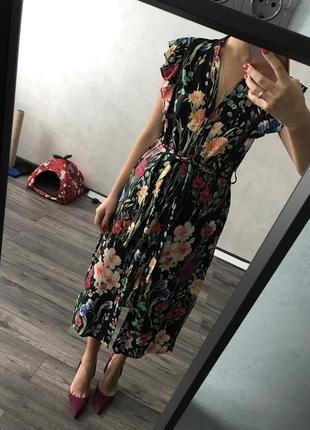 Платье zara basic collection