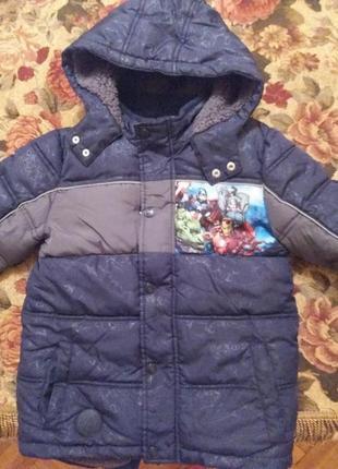 Зимняя курточка disney 9 лет