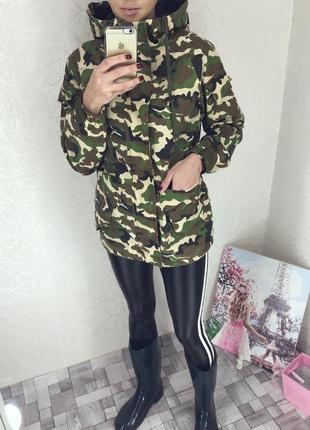 Актуальная камуфляжная куртка от бренда yess 💚