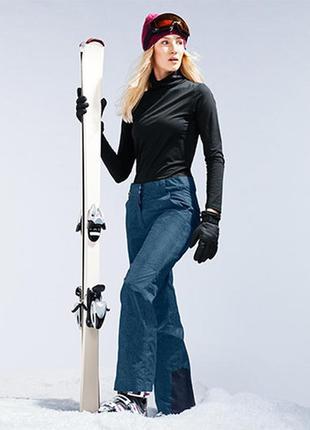 Лыжные брюки на байке, мембрана 3000 от tchibo германия .36 евро=42-44