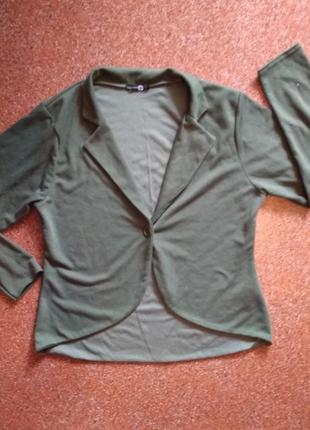 Стильный пиджак большого размера 22 uk