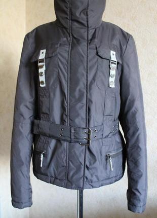 Качественная тёплая короткая куртка недорого скидка распродажа почти даром