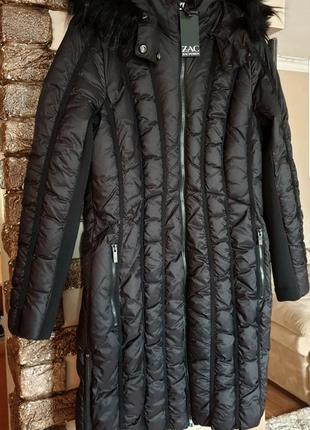 Американская модная женская куртка пуховик пальто zac zac posen. оригинал! размер m