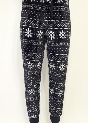 Теплые пижамные штанишки