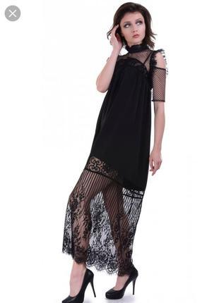 Черное платье vintages