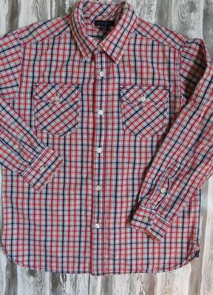 Рубашка с длинным рукавом на мальчика 12-14 лет tommy hifiger