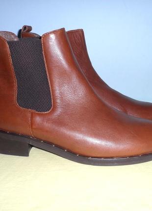 Ботинки-челси, натуральная кожа, 26.5 см