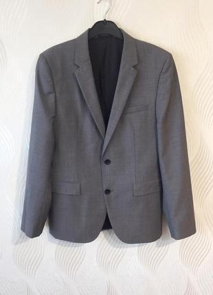 Мужской пиджак шерстяной hugo boss