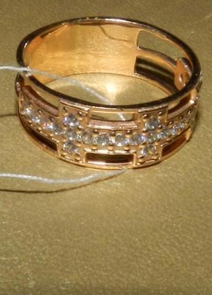 Золотое кольцо. новое. 585 проба.