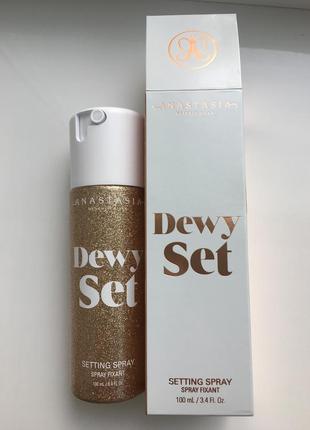 Anastasia beverly hills dewy set подсвечивающий фиксирующий спрей