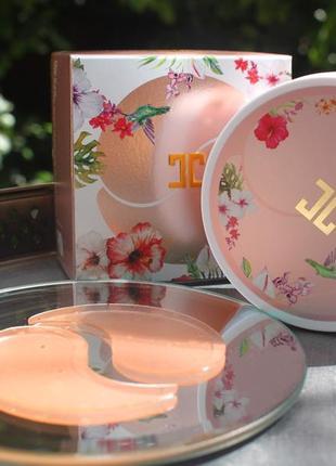 Гидрогелевые патчи jayjun roselle tea eye gel patch с гибискусом