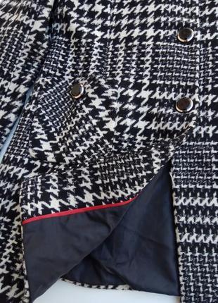 Стильное шерстяное пальто m & co. размер 187 фото