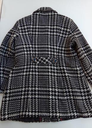 Стильное шерстяное пальто m & co. размер 186 фото