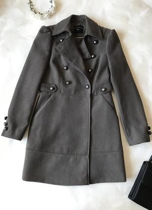 Тёплое пальто френч dorothy perkins
