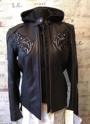 Крутая кожаная куртка x-element!