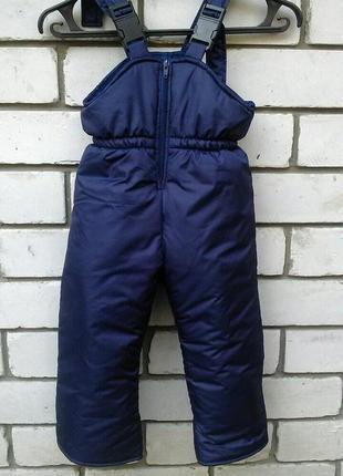 Акция! зимние штаны, полукомбинезон тёплый, на рост от 80 до 140 см