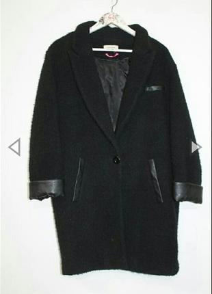 Пальто бойфренд boyfriend naf-naf