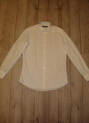 Рубашка приталенная размер s-м holland esquire