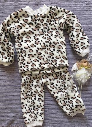 Пижама очень теплая!