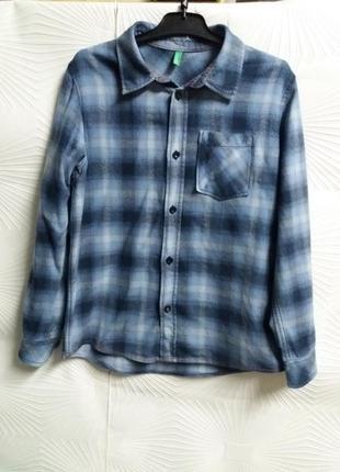 Суперская тёплая фирменная фланелевая рубашечка
