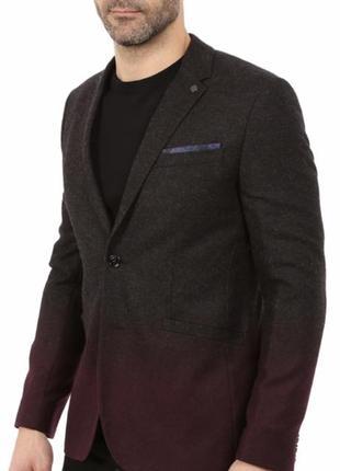 Шерстяной пиджак блейзер ted baker