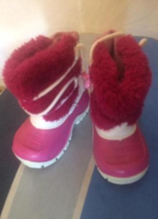 Зимние термо ботинки сапоги сноубутсы