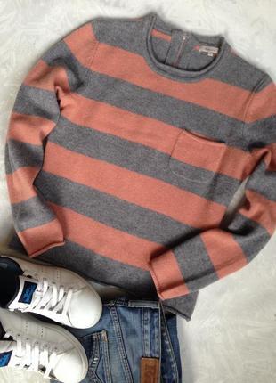 Шерстяной свитер с молнией сзади и распродажа брендовых вещей дешево! заходите!
