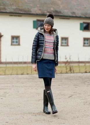 Плотная и качественная юбка, на ощупь, как джинс, tchibo(германия)
