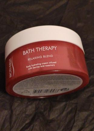 Увлажняющий крем для тела biotherm bath therapy relaxing blend 200мл