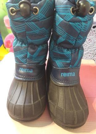 Зимние фирменные ботинки reima