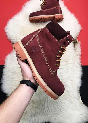Женские ботинки timberland bordo fure premium