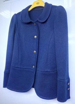 Пиджак вязанный