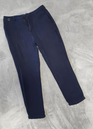 Круті сині брюки zara