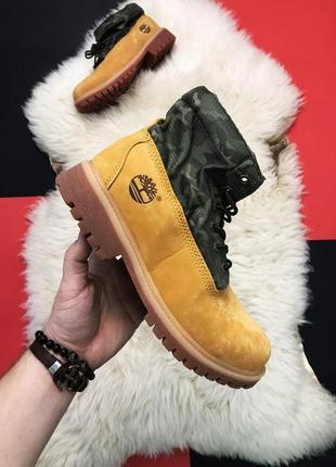 Мужские ботинки timberland military ginger premium thermo
