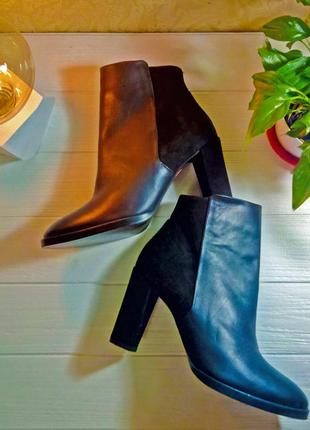 Элегантные женские демисезонные ботинки violeta by mango