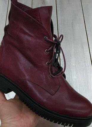 Зимние ботинки на цигейке donna ricco