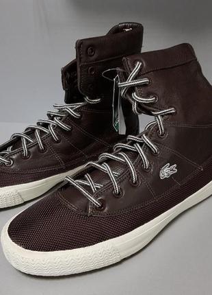 Ботинки мужские кожаные lacoste