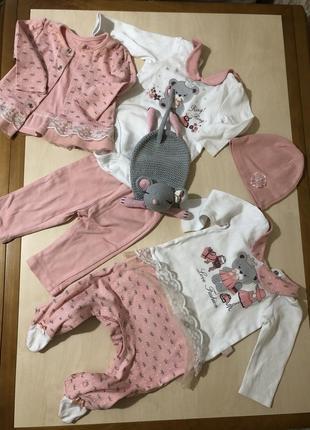 Детские вещи до 3-4 месяцев1 фото