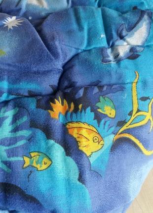 Детское одеяло. антиаллергенное волокно холлофайбер