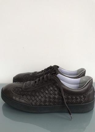 Bottega veneta ботинки кожаные (оригинал)