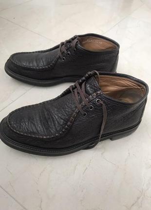 Ботинки кожаные мужские moreschi