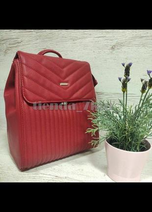 Стильный городской рюкзак david jones 6158-2 красный